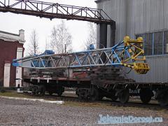 Изготовление стрел на железнодорожные краны