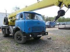 Technical re-equipment of motor transportation