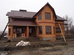 Construction and repair of turnkey houses, all types of works and services in construction and repair of houses