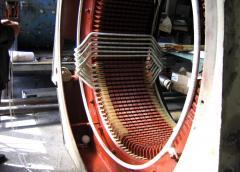 Service and repair of electric motors,
