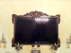 TV frames production to order, TV a frame under
