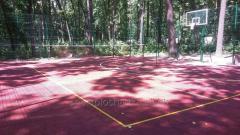 Construction of the basketball platform