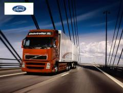 The combined freight transport transportation over