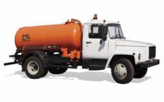 Услуги машины цистерны -насоса для откачки городских нечистот из стационарных хранилищ и утилизации