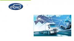 Road haulage territory of Kazakhstan. T.I.R. -
