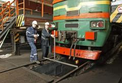 Repair of locomotives
