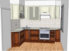Дизайн и разработка кухонь на заказ.