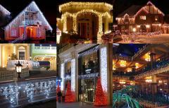 Светодиодная иллюминация магазинов, ресторанов, гостиниц