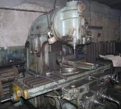 Milling processing on machines, Metallotekhmash,