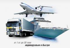 Logistics of sea transport price