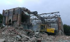 Demolition of buildings and constructions