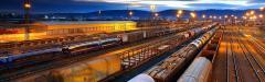Logistic services. Logistics on railway transpor