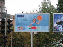 Advertizing on billboards in Kiev and in regions