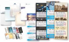 Quarter calendars press and production