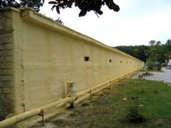 Thermal insulation of rooms for cattle
