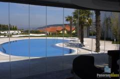 Остекление террас  PanoramGlass