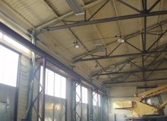 Thermal insulation PPU dusting in Ukraine. Thermal