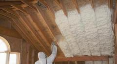 Warming by polyurethane foam in Ukraine. Isolation