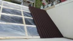 Ремонт козырьков балконов