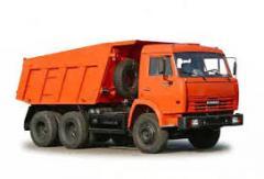 Lease of dump trucks
