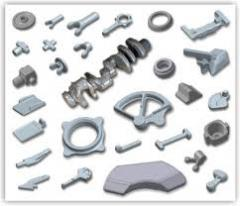 Production of forgings and stampings