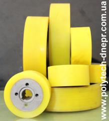 Restoration of a working layer of shaft, wheels,