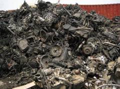 Export of scrap metal of Skvir