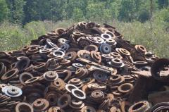 Export of scrap metal of Cornflowers