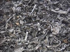 Reception of scrap of ferrous metals Gostomel