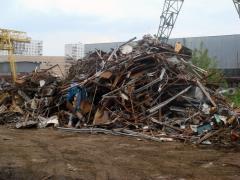 Reception of scrap of ferrous metals Bila Tserkva