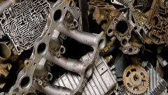 Reception of scrap of ferrous metals Slavutich