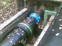Напорная система канализации