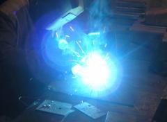 Semi-automatic welding