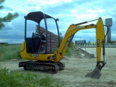 Services pass special equipment of JCB