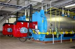 Construction of boiler rooms