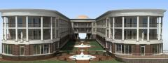 Construction of boarding houses, hotels, hotel