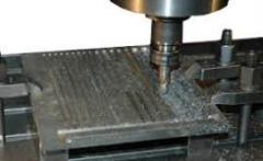 Works are milling