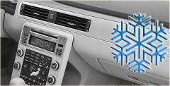 Combines filling - diagnostics of autoconditioners