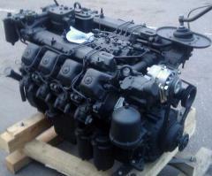 Diagnostics and repair of MAN engines