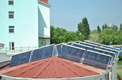 Installation and installation of solar batteries