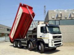 Перевозка сыпучих грузов до 40тонн