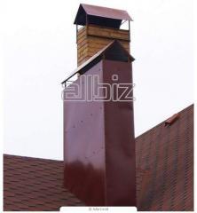 Уплотнение воздуховодов дымоудаления, уплотнение дымовой трубы защитным рукавом
