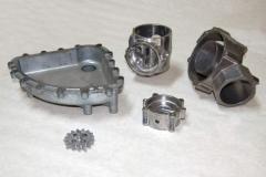 Aluminum molding under pressure