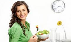 Consultation and treatment of the nutritionist in