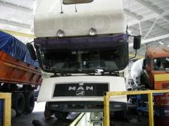 Ремонт ходовой части грузовых автомобилей МАН