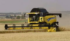 Уборка зерновых, подсолнечника.