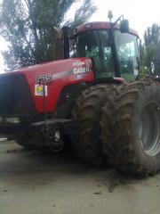 Посев яровых зерновых
