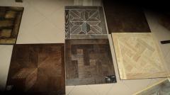 Installation to plywood (p_dkladka p_d parquet)