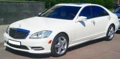 Lease of the car of a VIP-class. Rent of Mercedes
