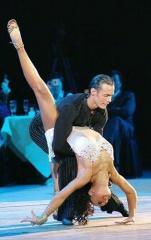 Обучение спортивным бальным танцам